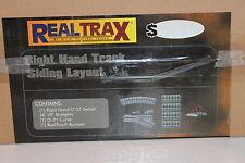 MTH RailKing Real Trax 40-1027 Right Hand Track Siding Layout 0-31 NIB H2F