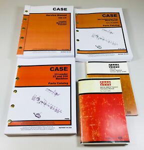 CASE 580CK TRACTOR LOADER BACKHOE SERVICE PARTS OPERATORS MANUALS OWNERS CK
