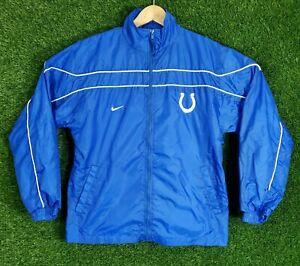 Vtg Nike Windbreaker Jacket Indianapolis Colts NFL Football Team Sports Youth L