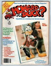HOWARD The DUCK MAGAZINE #1 MARVEL 1980 Colan Janson Golden art Kidney Lady App