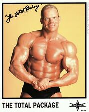 The Total Package Autographed 8 x 10 Glossy Color Promo Photo | WCW Era