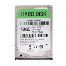750GB Interne Festplatte Laptop Notebook Festplatte, 2,5 Zoll, 5400rpm, 8MB
