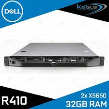 Dell PowerEdge R410 2x Xeon X5650 2.66GHZ Six Core 32GB RAM 1U Rack Mount Server