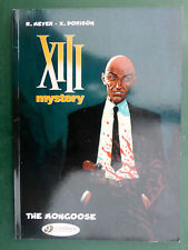 MEYER XIII mystery The Moongoose Cinebook 2014 en anglais La Mangouste Treize