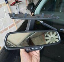 2015 - 2016 Golf GTI Auto Dim Rear View Mirror Assembly OEM Black / 5C0.857.511.