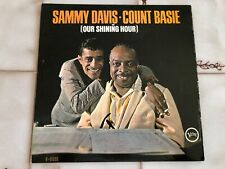 SAMMY DAVIS-COUNT BASIE~Our Shining Hour~LP~VERVE~LABEL~MONO~EXCELLENT