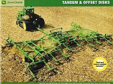 John Deere Tandem & Offset Discos Folleto/Catálogo: 637,650, 225,425, 670