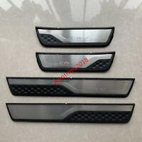 Car Steel Door Sill Scuff Plate Guards Protector For Honda CRV CR-V RW 2018 2019