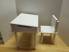 "My Life School Desk & Chair For 18"" Dolls In Good Shape"