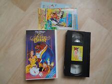 Walt Disneys Die Schöne und das Biest VHS Kassette Disney Meisterwerke