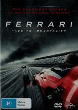 Ferrari: Race To Immortality Brand New but UNSEALED Region 2, 4, 6 (Plays in all