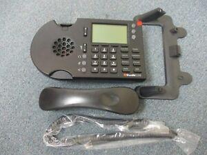 Shoretel Shorephone IP 230 Black VOIP Display Telephone W/ Handset & Stand #B