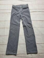 Gymboree Boys Size 8 Corduroy Pants Gray