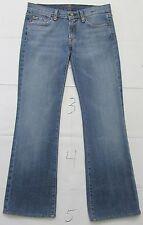 """7 For All Mankind Women's Jeans Boot Cut Size 27 Inseam 29"""" Blue U075055U-055U"""