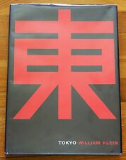 SIGNED - WILLIAM KLEIN - TOKYO - 1965 1ST EDITION WITH DUST JACKET - NICE COPY