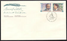 CANADA #1244a 38c SE-TENANT PAIR on 1989 FIRST DAY COVER