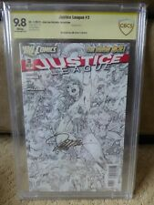 Justice League #3 vol. 2, Jim Lee black and white variant, signed, Dc