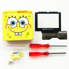 Limited SpongeBob Shell Housing Case For Nintendo Gameboy Advance SP GBA SP