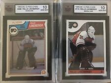 🚨1983 OPC #268 Pelle Lindbergh RC Rookie + 1985 OPC #110 RIP 2 Card Lot KSA 10