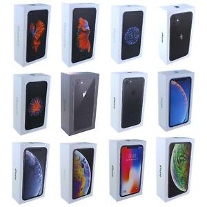 Karton Box Schachtel OVP Originalverpackung iPhone 6 6s 7 8 X XS XR 11 Plus, Max