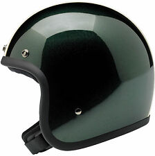 Biltwell Bonanza Open Face Motorcycle Helmet - Choose Color & Size