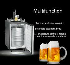 4.9 Cu Ft Keg Kegerator Draft Beer Dispenser Single Faucet Brew Fridge Cooling