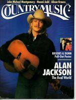 Country Music Magazine May/June 1994 Alan Jackson Alison Krauss Brooks & Dunn | eBay