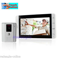 Wired Video door Phone Doorbell Home Security Intercom System Touch Key TFT LCD