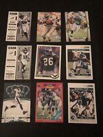 Lot Of 50 Philadelphia Eagles Football Cards.