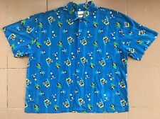 DISNEY STORE EXCLUSIVE ALL OVER PRINT MICKEY MOUSE HAWAII RAYON CASUAL SHIRT XXL
