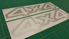 Nissan Navara Terrano Pathfinder QX4 4x4 decals stickers graphics replacement