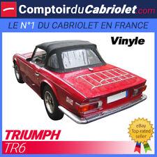 Capote Triumph TR6 cabriolet en Vinyle