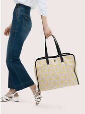 NWT Kate Spade Morley XL Tote Bag in Nylon & Leather $329