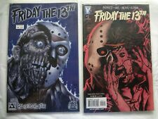 Lot of 2 FRIDAY THE 13TH Comic Books - Wildstorm & Avatar brands