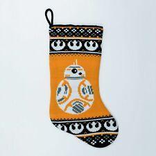 NEW - Disney Star Wars BB8 Knit Christmas Stocking 20 inch