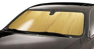 GOLD Custom Fit Sun Shade for Mercedes Vehicles Windshield Heat SunScreen Shield
