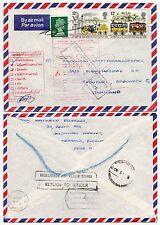 GB to THAILAND UNDELIVERED THONBURI AIRMAIL 1980