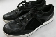 Mens Callaway 11.5 M Black Leather Golf Shoes A044
