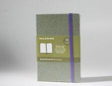 ORIGINAL MOLESKINE BLEND COLLECTION - Green Notebook Ruled Journal Notepad Fab