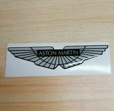 Aston Martin Domed Logo Sticker 3D Resin Gel Overlay Badge Supercar 100mm
