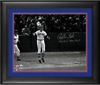 Autographed Carlton Fisk Red Sox 16x20 Photo Fanatics Authentic COA
