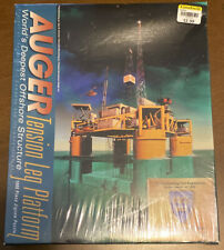 Auger Tension Leg Platform 1000 piece jigsaw puzzle. ASCE. Sealed. Offshore. New