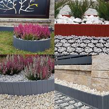 Beetumrandung Beeteinfassung Rasenkante Gartenpalisade 4 Farben TOP NEUHEIT!