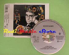CD Singolo ELTON JOHN THE ONE 1992 GERMANY 866 937-2 (S16) no mc lp vhs dvd