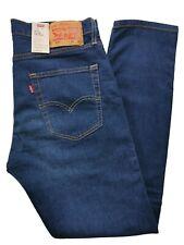 Levi's 512 Slim Taper Men's Jeans Blue Stretch-Sit Below Waist-Slim throughThigh
