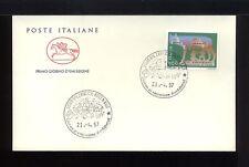 1997 ITALIA FDC CAVALLINO 21.4.1997 FONDAZIONE DI ROMA