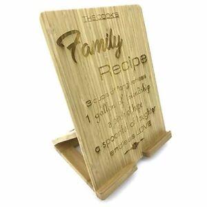 Wooden Tablet / Book Holder (large) - Personalised