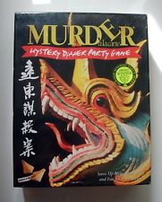 Murder a la Carte - Mystery Dinner Party Game - Murder In the Orient - En ingles