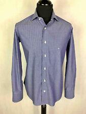 UNGARO PARIS Herrenhemd Baumwolle Nadelstreifen Man Cotton Hemd SZ. m - 48
