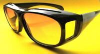 Nachtfahrbrille Autofahrerbrille Überziehbrille Kontrastbrille Sonnenbrille